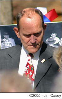 Glenn Watson at the Huntsville 2005 sesquicentennial celebration.