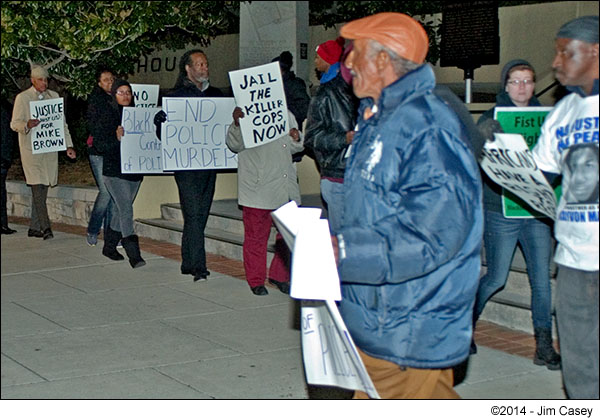 Huntsville's Ferguson Protesters: Jail The Killer Cop!