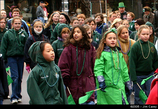 St. Patricks Day Parade 2005