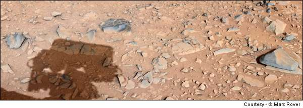 Clovis Points On Mars!!!