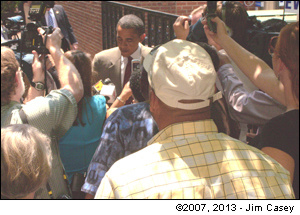 Barack Obama In Huntssville 2007