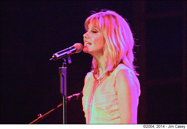 Olivia Newton John at Big Spring Jam 2004 in Huntsville, Al