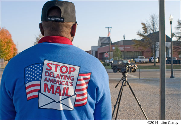 Huntsville Post Office Employees Protest Service Changes
