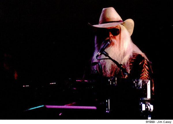 Leon Russell At Huntsville's Big Spring Jam In 1999